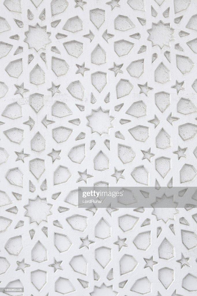 Arabic wall pattern