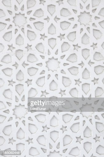 アラビアの壁の模様
