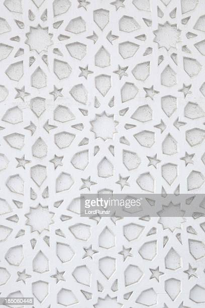 Arabic wall pattern