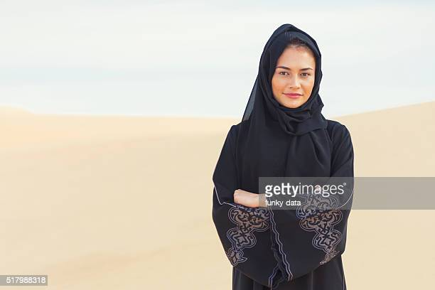 Arabic woman in traditional clothes