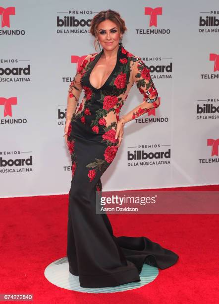 Aracely Arambula attends Billboard Latin Music Awards Arrivals at Watsco Center on April 27 2017 in Coral Gables Florida