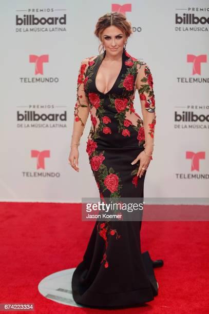 Aracely Arambula attends the Billboard Latin Music Awards at Watsco Center on April 27 2017 in Miami Florida