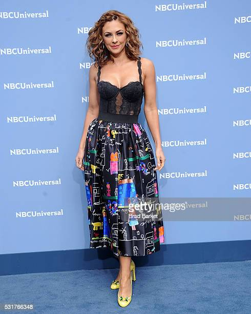 Aracely Arambula attends the NBCUniversal 2016 Upfront Presentation on May 16 2016 in New York City