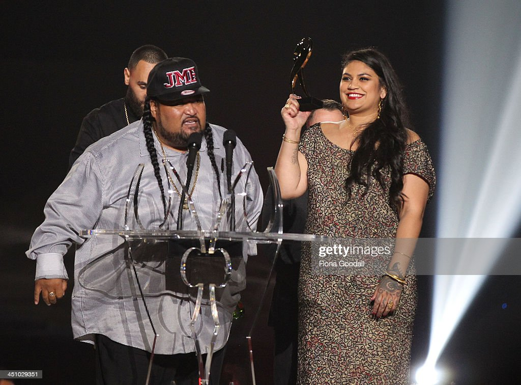 Aradhna wins Album of the Year during the New Zealand Music Awards at vector Arena on November 21, 2013 in Auckland, New Zealand.