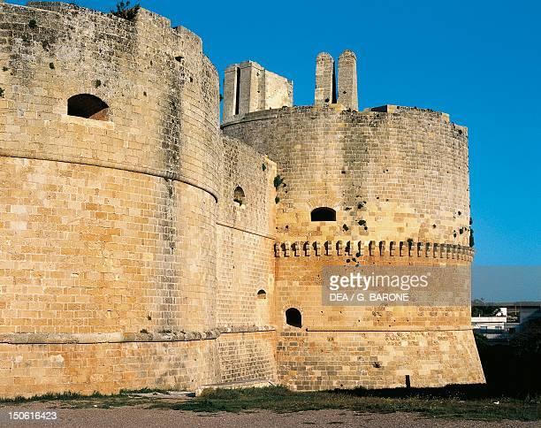 Aragonese castle of Otranto Apulia Italy 15th century