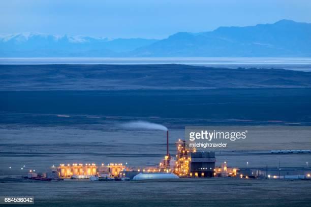 Aragonite waste incineration facility Great Salt Lake Desert mountains Utah
