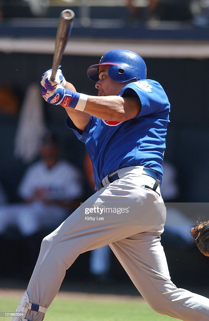 Aramis Ramirez of the Chicago Cubs The Cubs defeated the Padres 93 at Qualcomm Stadium on Thursday Aug 9 2003