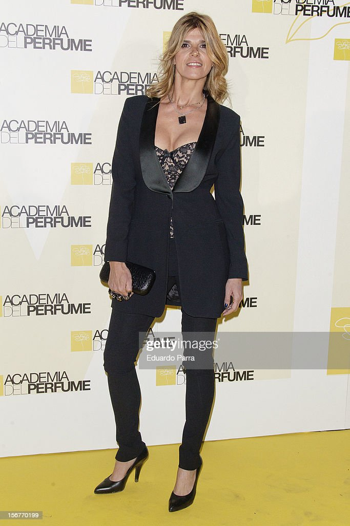 Arancha de Benito attends Academia del perfume awards photocall at Casa de America on November 20, 2012 in Madrid, Spain.