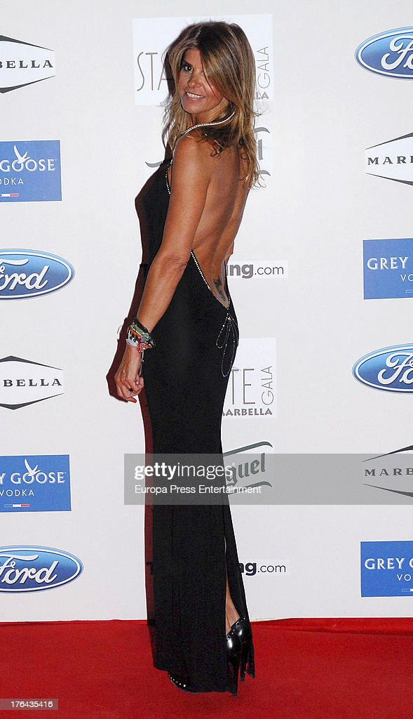 Arancha de Benito attends the 4rd annual Starlite Charity Gala on August 10, 2013 in Marbella, Spain.