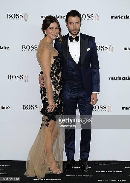 Arancha del Sol and Finito de Cordoba attend the 'Marie Claire Prix De La Moda' awards at Florida Retiro on November 16 2016 in Madrid Spain