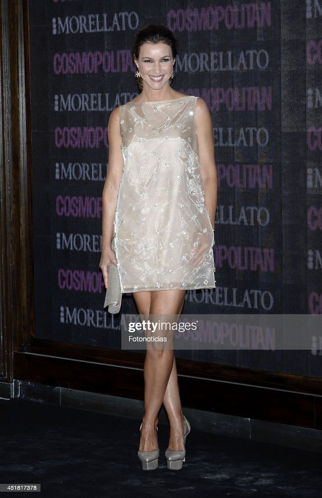 Arancha del Sol attends the Cosmopolitan Beauty Awards at Platea Restaurant on July 7, 2014 in Madrid, Spain.