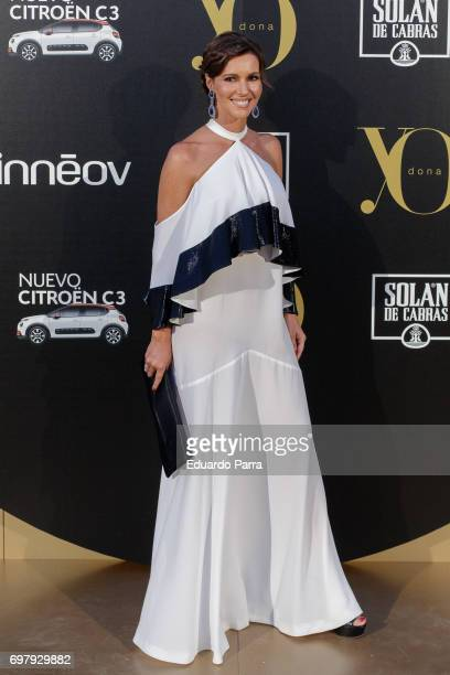 Arancha del Sol attends the 'Yo Donna International Awards' photocall at Duques de Pastrana palace on June 19 2017 in Madrid Spain