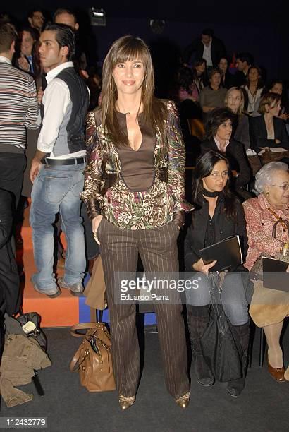 Arancha Del Sol during VIPs at the 2007 Madrid Fashion Week at El Retiro Park in Madrid Spain