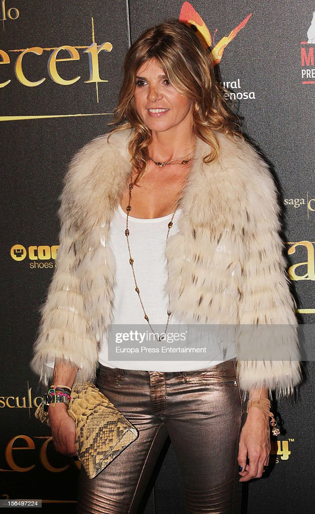 Arantxa de Benito attends the premiere of 'The Twilight Saga: Breaking Dawn - Part 2' (La Saga Crepusculo: Amanecer- Parte 2) at kinepolis Cinema on November 15, 2012 in Madrid, Spain.