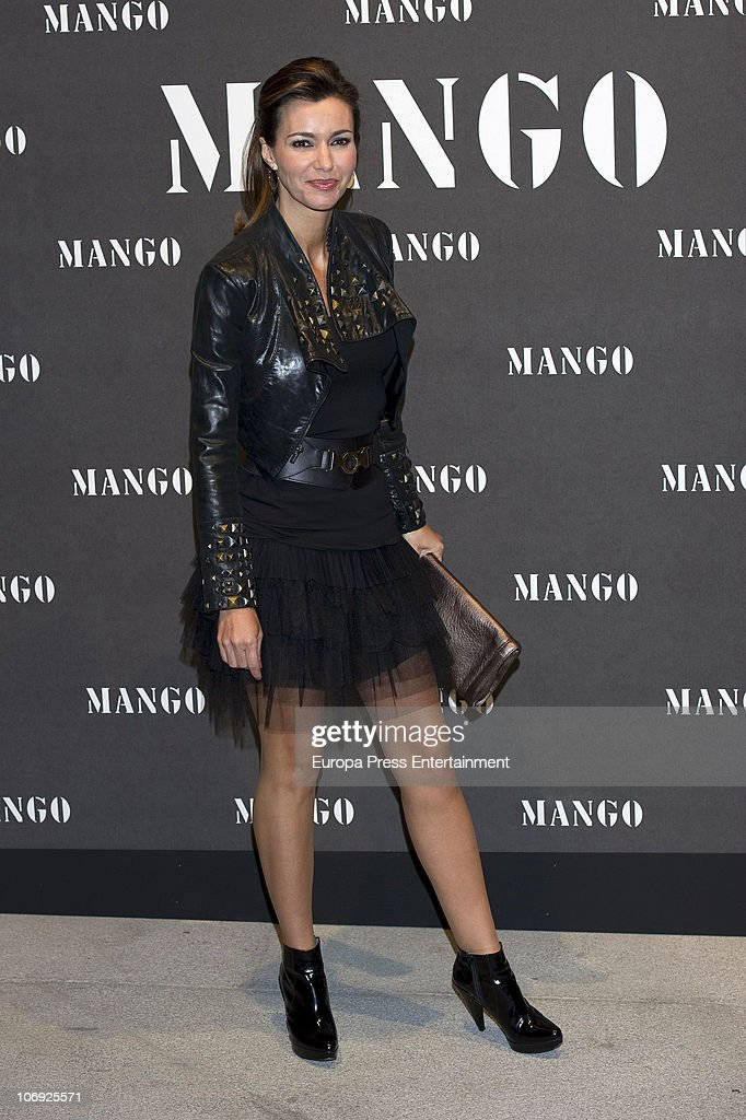 Arantxa del Sol attends the launch of Mango new spring/summer 2011 collection at the Palacio de Cibeles on November 16, 2010 in Madrid, Spain.