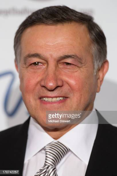 Aras Agalarov arrives at the 2013 Miss USA pageant at Planet Hollywood Resort Casino on June 16 2013 in Las Vegas Nevada