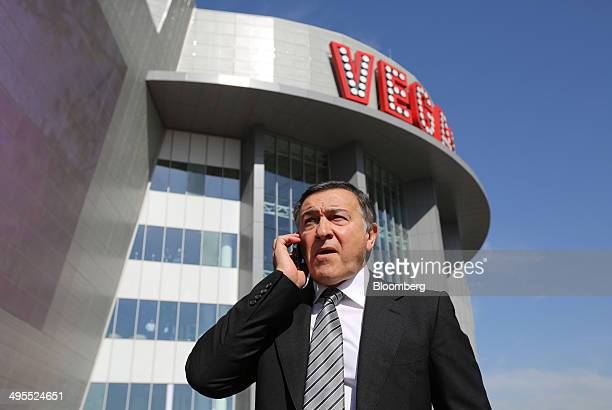 Aras Agalarov founder of Crocus Group prepares for the opening of his new Vegas shopping mall in Moscow Russia on Wednesday June 4 2014 Russia's $2...