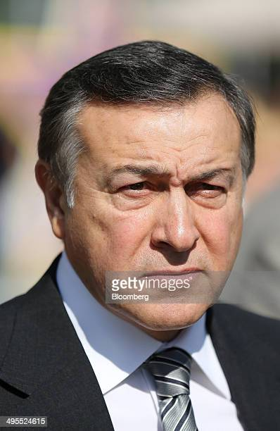 Aras Agalarov founder of Crocus Group waits ahead of the opening ceremony for his new Vegas shopping mall in Moscow Russia on Wednesday June 4 2014...