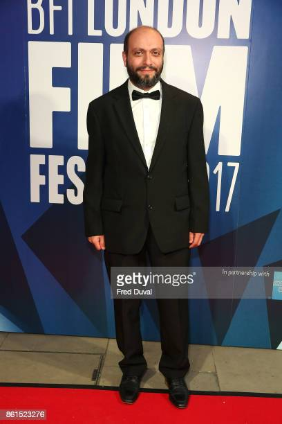 Arash Kamali Sarvestani attends the 61st BFI London Film Festival Awards on October 14 2017 in London England