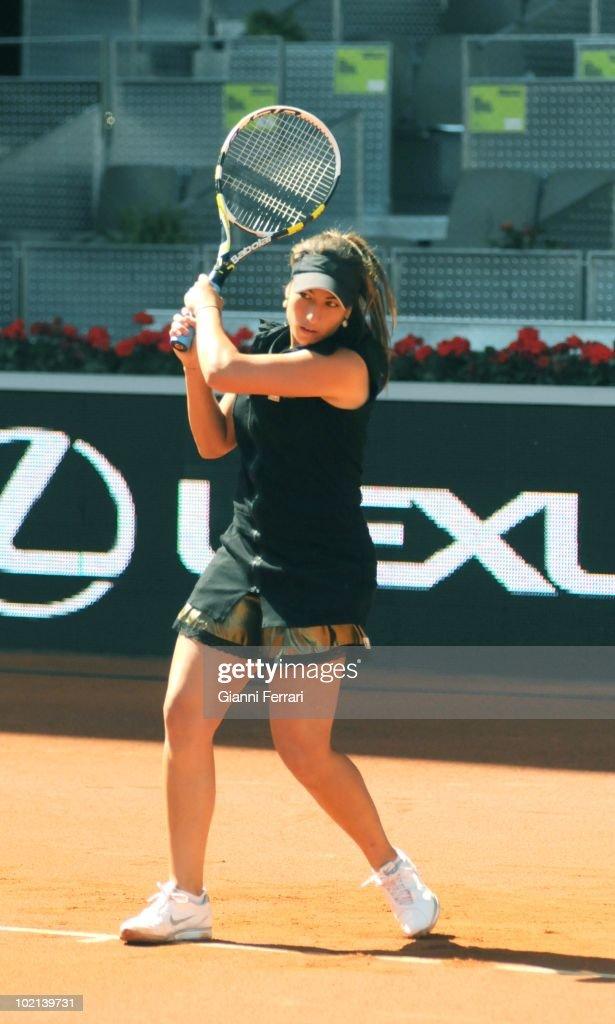 Aravane Rezai, FRA, tennis in 'Mutua Madrilena Madrid Open' , 8th May 2010, in 'La Caja Magica'. Madrid, Spain.