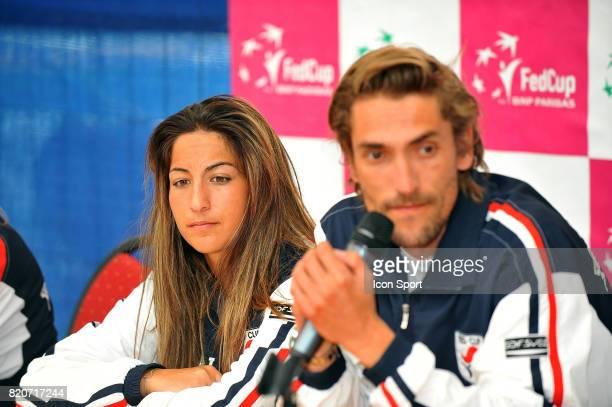 Aravane REZAI / Nicolas ESCUDE Fed Cup 2010