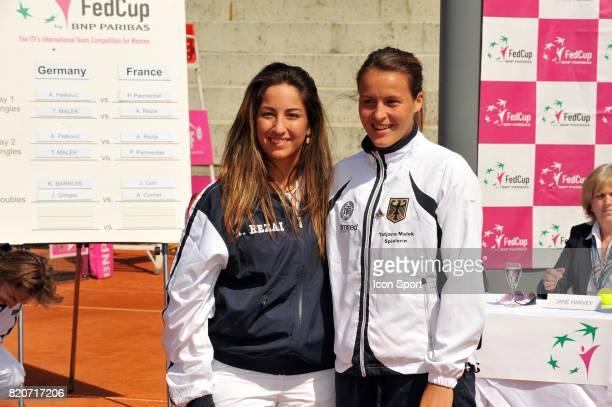 Aravane REZAI / Tatjana Malek Fed Cup 2010