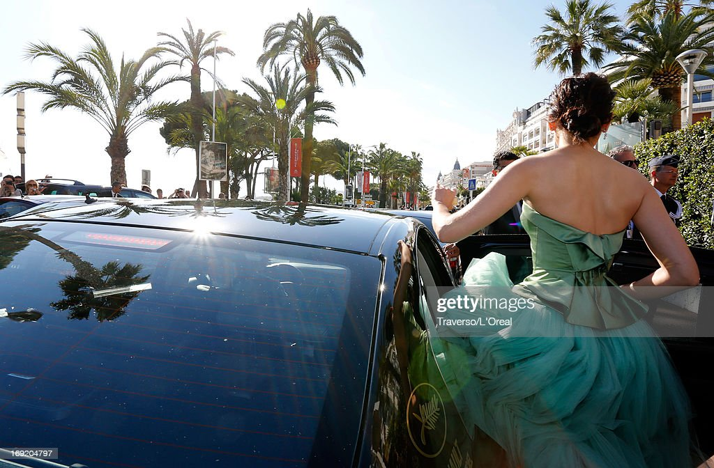 Araya A. Hargate attends the L'Oreal Cocktail Reception during The 66th Cannes Film Festival on May 21, 2013 in Cannes, France.