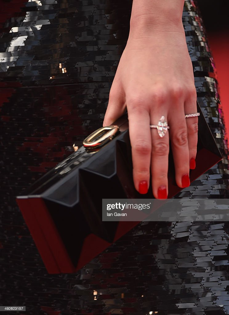 Araya A. Hargate (bag and jewelry details) attends 'The Search' premiere during the 67th Annual Cannes Film Festival on May 21, 2014 in Cannes, France.