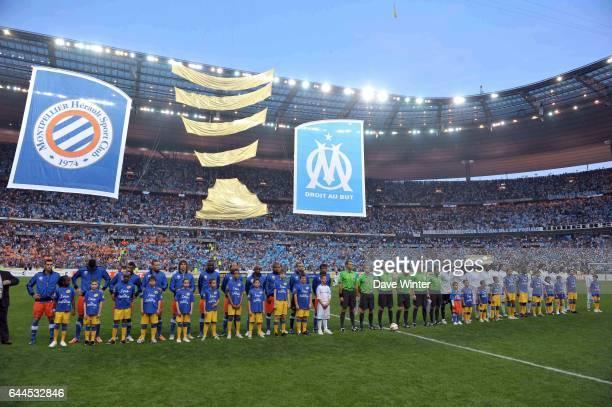 Arbitre Antony GAUTIER Mickael ANNONIER Nicolas POTTIER Wilfried BIEN Olivier THUAL Said ENNJIMI Marseille / Montpellier Finale de la Coupe de la...