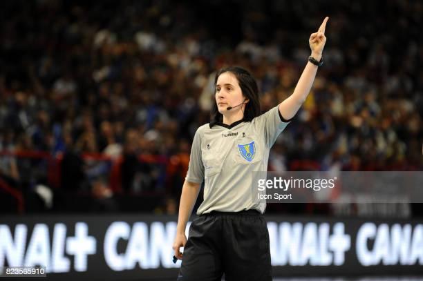 Arbitre Melle BONAVENTURA Coree du Sud / Argentine Tournoi de Paris Bercy