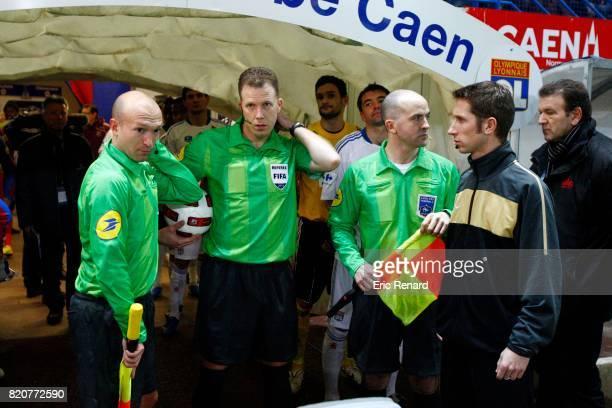 Arbitres / Olivier THUAL Caen / Lyon 32e Finale Coupe de France