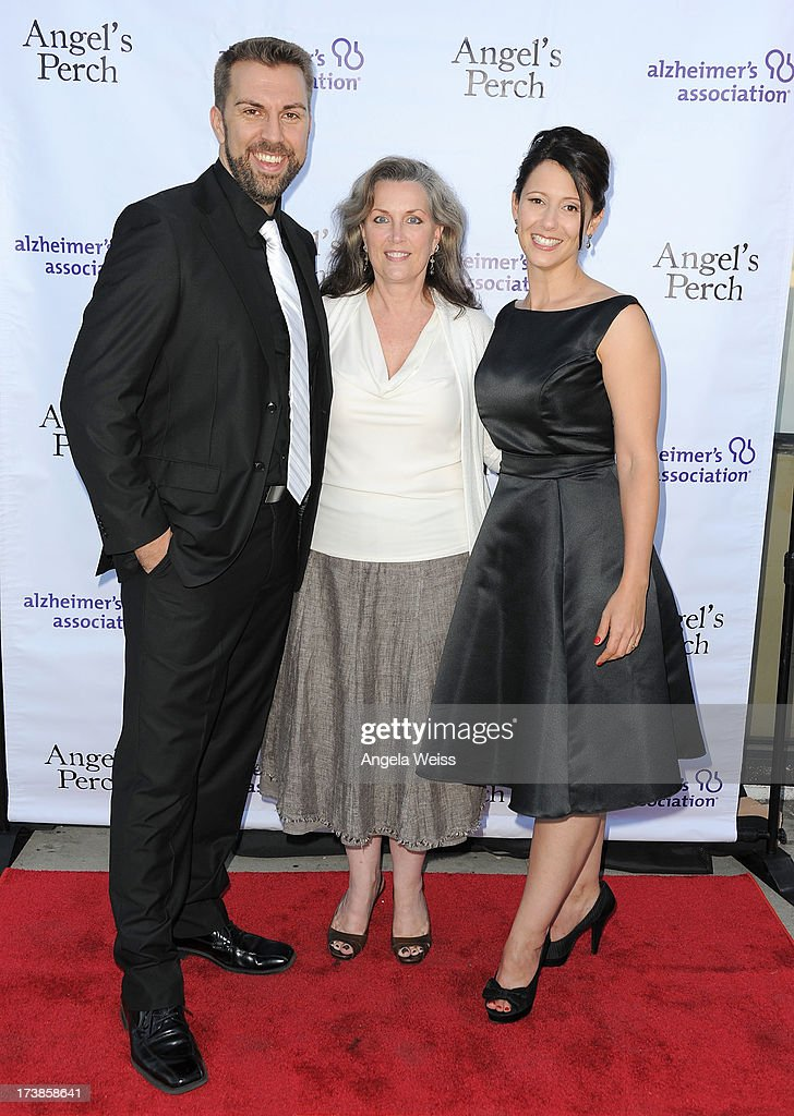 J.T. Arbogast, Susan Galeas and Kimberly Dilts arrive at the 'Angel's Perch' West Coast Premiere at Laemmle's Royal Theatre on July 17, 2013 in Los Angeles, California.