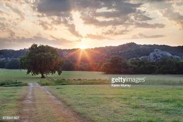 Arbuckle Mountain Sunrise