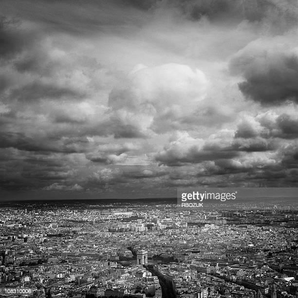 Arc De Triomphe from Eiffel Tower