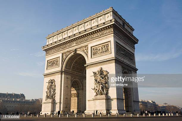 Arc de Triomphe à Paris, en France