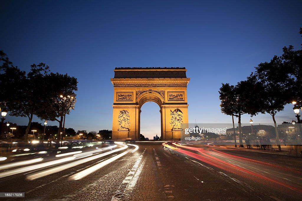 'Arc de Triomphe, Paris'