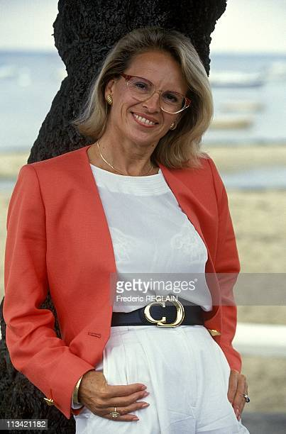 Arcachon Closeup Michele AlliotMarie Sports Minister On August 23rd 1993
