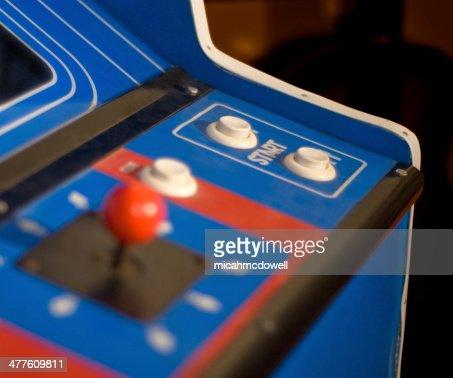 Arcade Machine start button : Stock Photo