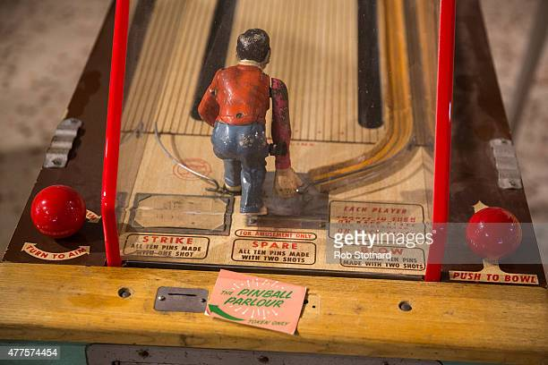 Arcade machines at Dreamland amusement park on June 18 2015 in Margate England Dreamland is considered to be the oldestsurviving amusement park in...