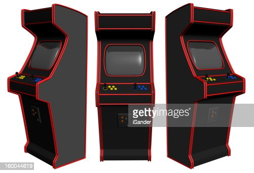 Arcade Video Gaming : Stock Photo