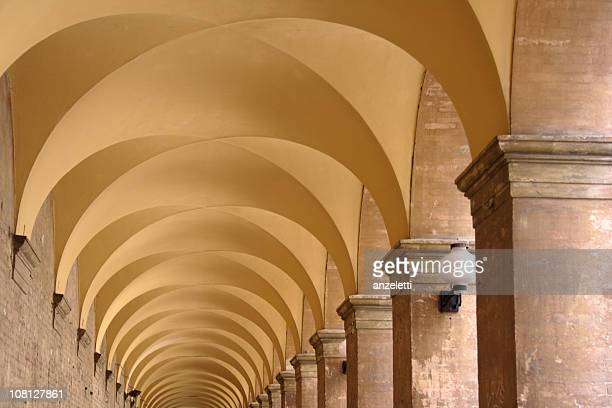 Arcades and Arches Tunnel in Italy