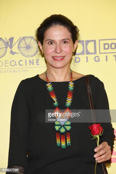 Arcelia Ramirez attends the 'How To Be A Latin Lover' Mexico City premiere at Teatro Metropolitan on May 3 2017 in Mexico City Mexico