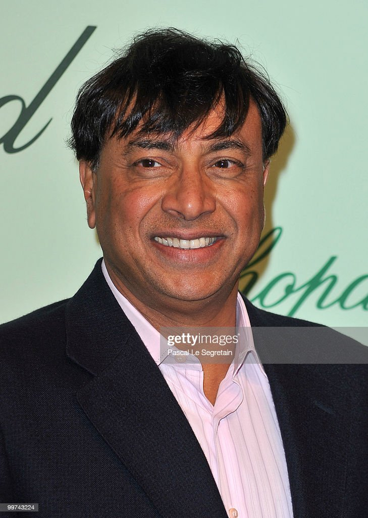 ArcelorMittal Lakshmi Mittal attends the Chopard 150th Anniversary Party at Palm Beach Pointe Croisette during the 63rd Annual Cannes Film Festival...