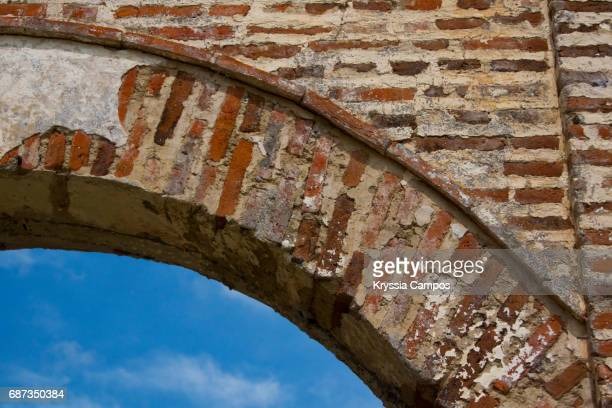 Arch detail at Ruins, abstract backgrounds
