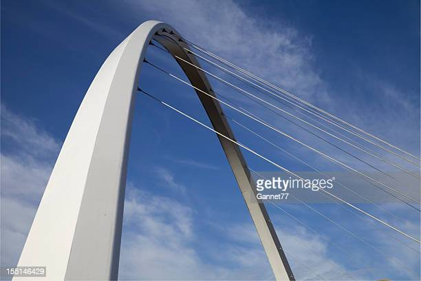 Arch of the Gateshead Millennium Bridge, Newcastle