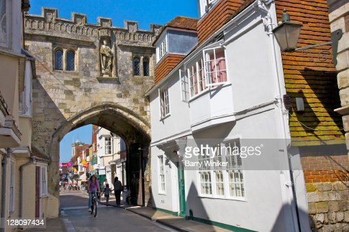 Arch on High Street, Salisbury, United Kingdom