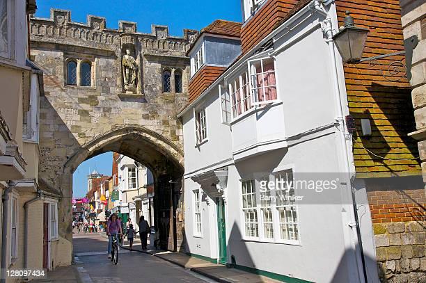 Arch on High Street, Salisbury, United Kingdom