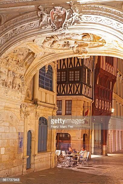 Arch under the Gros Horloge