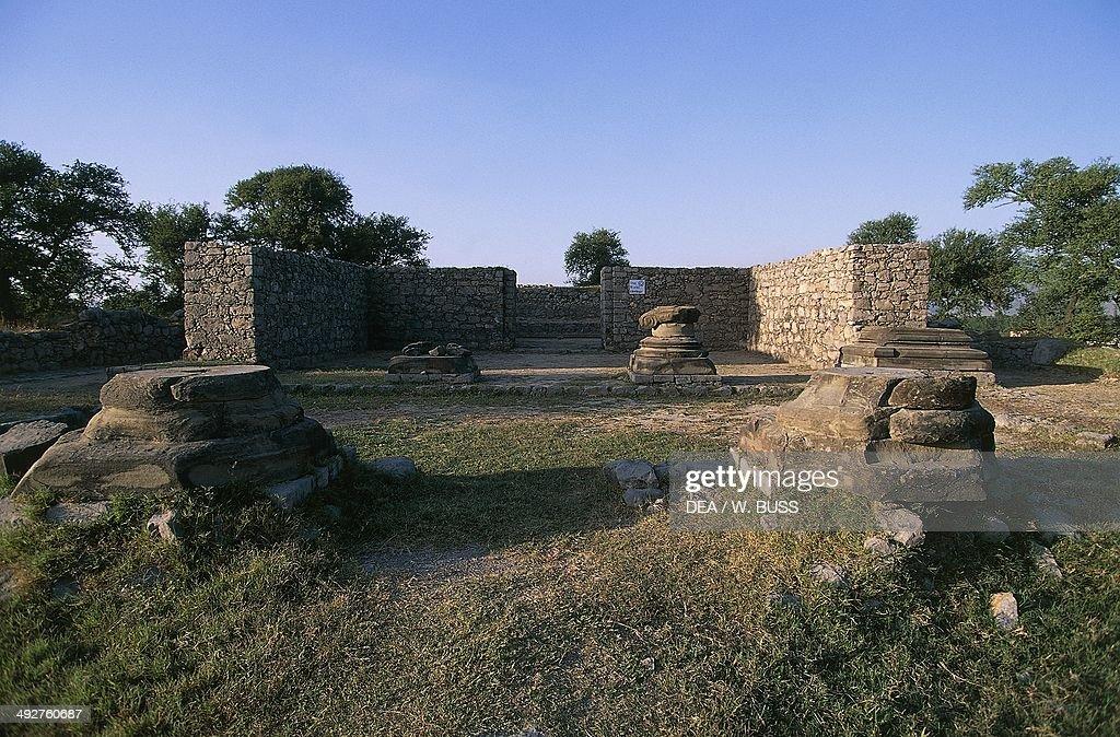Archaeological ruins Taxila Punjab Pakistan Indus Valley civilisation 3rd century BC