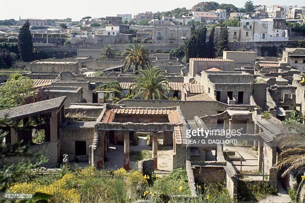 Archaeological site of Herculaneum Campania Italy Roman civilization